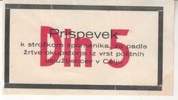 5874  BON 5  DINARJEV - Slovenië