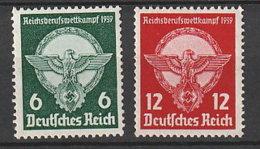 Deutsches Reich 689/90 ** - Unused Stamps