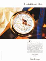 """PUB MONTRE """" LOUIS VUITTON  """" 1989 ( 1 ) - Juwelen & Horloges"""