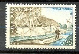 Neuf Gomme D'origine Sans Charnière - 1965 - Y&T 1439 (Mi 1518) PAYSAGE VENDÉEN - (1) - Nuovi