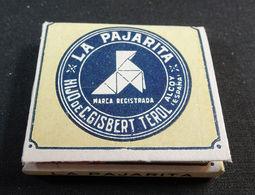 ANTIQUE CIGARETTE ROLLING PAPER LA PAJARITA EARLY 1900 TOBACCIANA COLLECTIBLE 17 - Altri