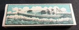 ANTIQUE CIGARETTE ROLLING PAPER BLACK CANOA 1900 TOBACCIANA COLLECTIBLE  025CDC - Altri
