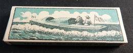 ANTIQUE CIGARETTE ROLLING PAPER BLACK CANOA 1900 TOBACCIANA COLLECTIBLE  026CDC - Altri