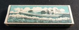 ANTIQUE CIGARETTE ROLLING PAPER BLACK CANOA 1900 TOBACCIANA COLLECTIBLE  027CDC - Altri