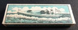 ANTIQUE CIGARETTE ROLLING PAPER BLACK CANOA 1900 TOBACCIANA COLLECTIBLE  028CDC - Altri