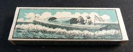 ANTIQUE CIGARETTE ROLLING PAPER BLACK CANOA 1900 TOBACCIANA COLLECTIBLE  029CDC - Altri