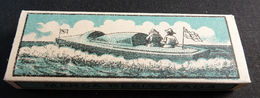 ANTIQUE CIGARETTE ROLLING PAPER BLACK CANOA 1900 TOBACCIANA COLLECTIBLE  030CDC - Altri
