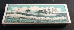 ANTIQUE CIGARETTE ROLLING PAPER BLACK CANOA 1900 TOBACCIANA COLLECTIBLE  033CDC - Altri
