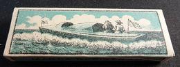 ANTIQUE CIGARETTE ROLLING PAPER BLACK CANOA 1900 TOBACCIANA COLLECTIBLE  034CDC - Altri