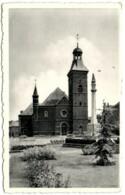 Frameries - Eglise Et Monument De La Resistance - Frameries