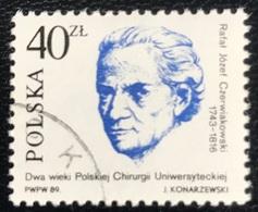 Polska - Poland - P2/46 - (°)used - 1989 - Michel Nr. 3221 - Universitaire Chirurgie - 1944-.... Republic