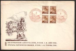 Böhmen Und Mähren Beleg - Occupazione 1938 – 45