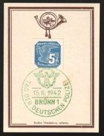 Böhmen Und Mähren Beleg - Besetzungen 1938-45