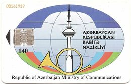 Azerbaijan Phonecard - Azerbaigian