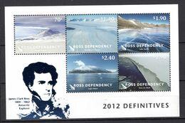 2012 - ROSS   -  Mi.  Nr. BF 8 -  NH -- (K-EA.25) - Ross-Nebengebiet (Neuseeland)