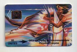 Télécarte 60 Unités Polynésie Française Le Reve De L'espafon Pierre Kienlen - Polinesia Francese