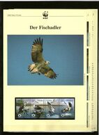 2003 Polen/Poland WWF Fischadler/Osprey 4 ** + 3 Blätter Beschreibung - Neufs