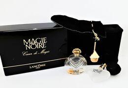 Miniatures De Parfum COFFRET MAGIE NOIRE  De  LANCOME  CŒUR De  MAGIE  7.5 Ml   EDT 85% VOL  + Boite - Miniaturen Flesjes Dame (met Doos)