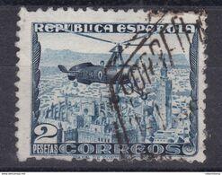 ESPAÑA 1935 - Autogiro La Cierva Sello Usado Edifil Nº 689 - 1931-50 Usati