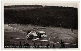 Hirts Iserkammbaude Mit Viktoriahöhe, Bad Flinsberg, Alte Foto Ansichtskarte 1933 - Polen