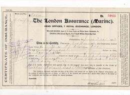 Lot De 4 Documents Rares 1903 New York, London, Philadelphia - USA