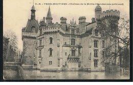 CPA Les Trois Moutiers (86) Château De La Motte-Clandeniens (côté Sud) - Saint Gervais D'Auvergne