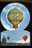 COLLECTOR 2013 « LE TIMBRE FÊTE L'AIR - L'HISTOIRE DES MONTGOLFIÈRES » 10 TIMBRES ADHÉSIFS – TBE - Collectors