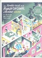 Les Rendez-vous De La Bande Dessinée D'Amiens 2020..chez Vous 86 Auteurs - Revue On A Marché Sur La Bulle.. - Prime Copie
