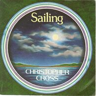 "CHRISTOPHER CROSS ""SAILING - NEVER BE THE SAME"" DISQUE VINYL 45 TOURS - Vinyl Records"
