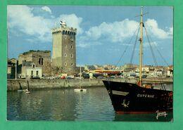 """85 Vendée Les Sables D' Olonne Le Port Le Port Avec Cargo """" Guyenne """" - Commercio"""