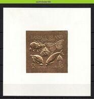 Nbu228b FAUNA VLINDER SCHILDPAD DINOSAUR BUTTTERFLIES TURTLE DOLPHIN MUSHROOM GOLDEN SCOTLAND EASDALE ISLAND 1991 PF/MNH - Fantasie Vignetten