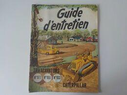 1950 Brochure USA Genre BD Caterpilar Traxcavators Guide D'entretien Tracteurs Moteurs Diesel Bruxelles Comics - Traktoren