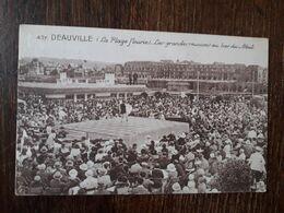 L28/1209 DEAUVILLE - La Plage Fleurie - Les Grandes Réunions Au Bar Du Soleil - Deauville