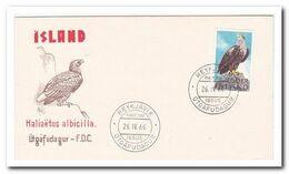 1966, FDC Unwritten, Bird Of Prey - FDC