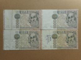 Italy 1000 & 5000 Lira 1982 (Lot Of 2 Banknotes) (P-109a, P-105b.2) - 5000 Lire