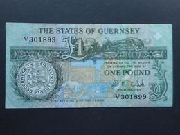 Guernsey 1 Pound 1991 (P-52c) - Guernsey