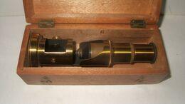 PETIT MICROSCOPE ANCIEN  GENRE SCOLAIRE - Technical