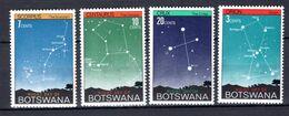 1972 - BOTSWANA   -  Mi.  Nr. 84/87 -  NH -- (K-EA.25) - Botswana (1966-...)