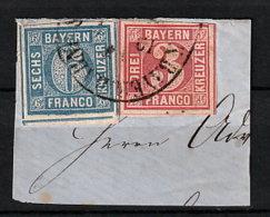 Bayern 9/10 Auf Briefstück - Bayern (Baviera)