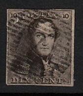 Belgien 1 O - 1849 Epaulettes