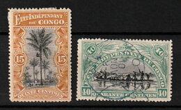 Belgisch-Kongo 22 *, 23 O - 1894-1923 Mols: Nuevos