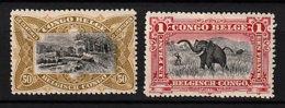Belgisch-Kongo Kolonie 20/1 * - 1894-1923 Mols: Nuevos