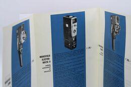 391 - Caméras Mansfield - Zoom, Electromatic8,Turret,Skylark, Evetronic 35R - Zubehör & Material