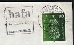 Germany Bremen 1984 / Hafa / Fair, Messe / Machine Stamp - Marcofilia - EMA ( Maquina De Huellas A Franquear)