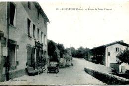 N°3354 R -cpa Valfleury -route De Saint Etienne- - Otros Municipios
