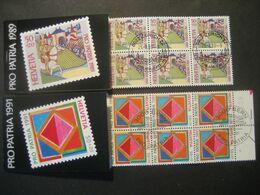 Schweiz- - FDC Markenheftchen Pro Patria 1989 Mit Jeweils 10 Zuschlagmarken - Booklets
