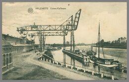Zelzate - Selzaete - Usines Kullmann - Péniches - Animée - ALBERT - Edit. DE RECHTER SŒURS - 1921 - Zelzate