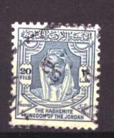 Jordanie / Jordan 255 Used (1952) - Jordania
