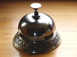 SONNETTE  D' Hôtel ,de Comptoir , De Service ,ou De Cuisine De Restaurant. - Campane