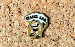 Pin's RUGBY CUC UA - CHOPE DE BIÈRE 3ème Mi-temps - Peint Cloisonné - Fabricant Inconnu - Rugby